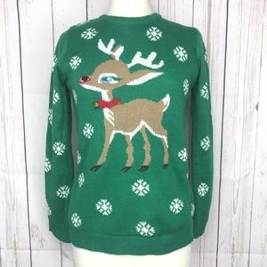 Altar'd State Rudolph Light Up Christmas Sweater